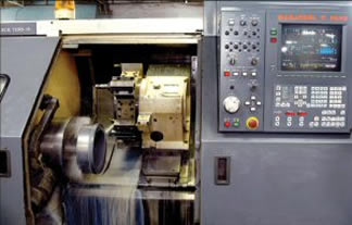 machining line with cnc lathes
