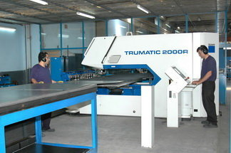 automated sheet metal operations lines