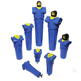 Low Capacity Compressed Air Filters
